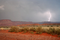 Lightning storm, Canyonlands N.P.