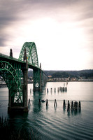 bridge, Newport, Oregon